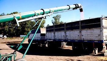 Transportistas de granos anunciaron un paro para la próxima semana