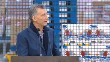 Macri visitó la planta de Molinos Río de la Plata y remarcó la importancia de exportar