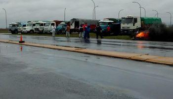 Transportistas de granos levantan la medida de fuerza