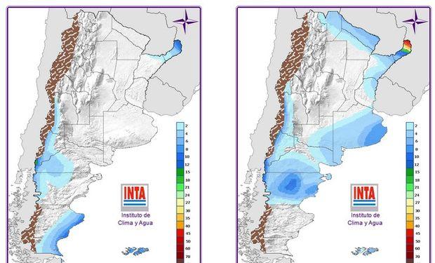 Mapa de Precipitaciones: 24 y 48 hs.