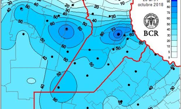 Octubre cerró con una gran recuperación hídrica en Argentina.