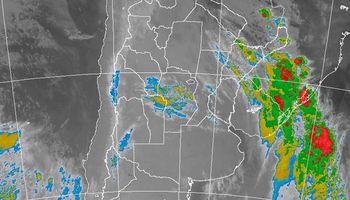 Las tormentas se trasladan al NEA