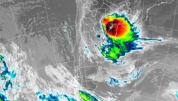 Persisten las tormentas con importantes acumulados pluviales