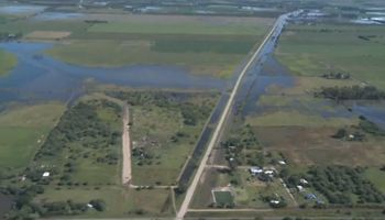 Bajó el Río Ctalamochita pero la situación es crítica para los productores