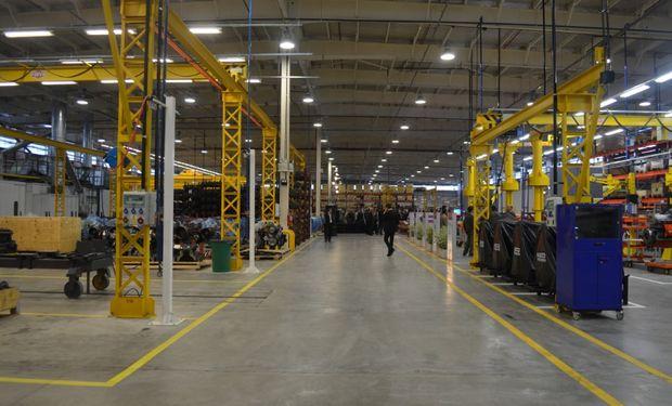 La planta de General Rodríguez tiene la capacidad instalada como para duplicar la producción actual.