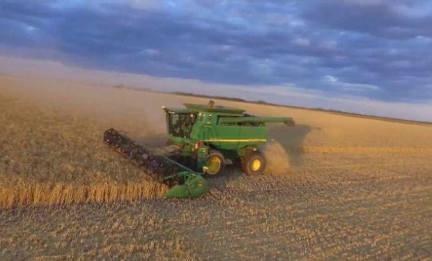 No son lluvias de importancia, pero si suficientes para generar inconvenientes en el avance de la cosecha de granos finos.