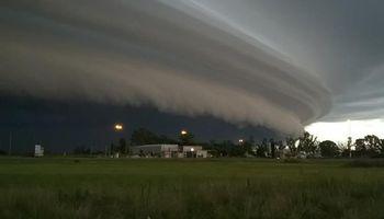 El clima vuelve a estar influenciado por fuertes tormentas