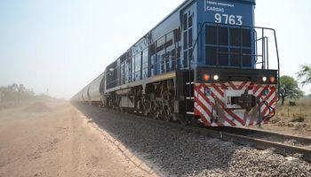 Línea Belgrano: la carga transportada fue la mayor desde 1992