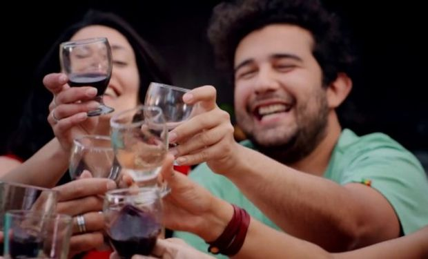Es la primera vez que un aviso publicitario de vino está entre los nominados al premio Martín Fierro.