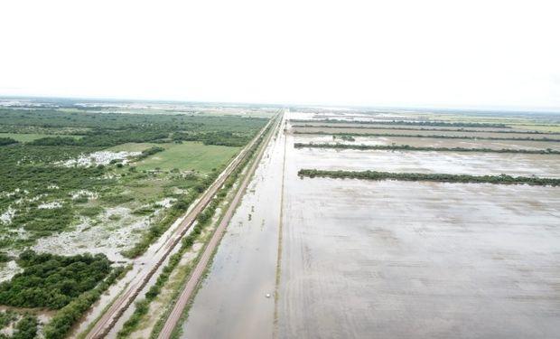 Se prevé que el sistema frontal transite gran parte de la región pampeana dejando lluvias modestas en forma mayoritaria.