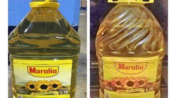 Alertan por la falsificación de un reconocido aceite de girasol y prohíben su comercialización