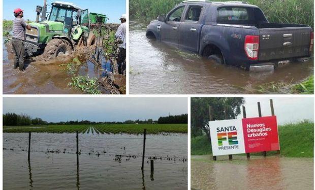Santa Fe: el desastre de las inundaciones en fotos