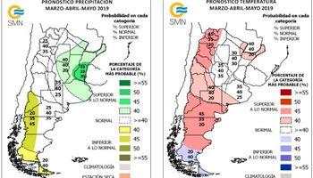 El pronóstico para Entre Ríos muestra lluvias por encima de lo normal