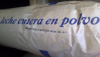 Se liberó la exportación de leche en polvo argentina a Brasil
