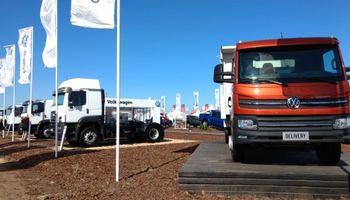 Volkswagen Camiones duplicó la apuesta en Agroactiva