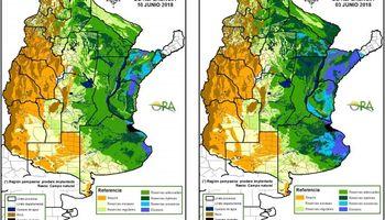 Siguen disminuyendo las áreas afectadas por excesos hídricos