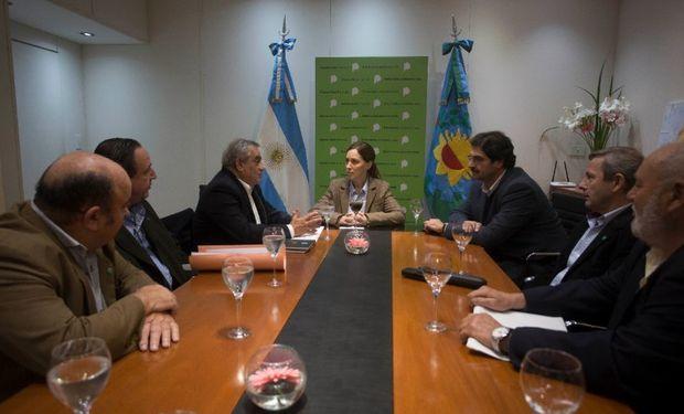 La gobernadora Vidal recibió a Coninagro.