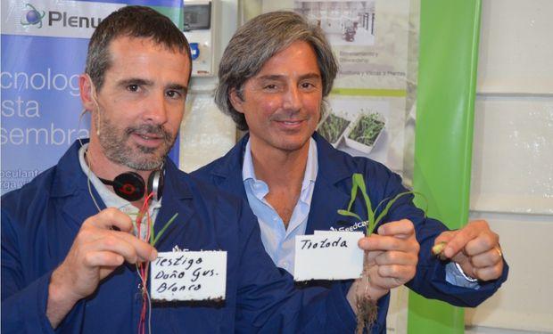 Representantes de Seedcare Institute realizan una muestra dinámica dividida de cuatro estaciones - Estación 1
