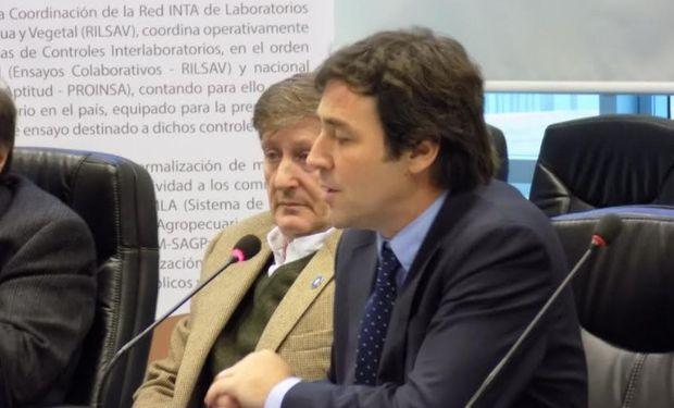 Luis Urriza, subsecretario de Agricultura del Ministerio de Agroindustria de la Nación.