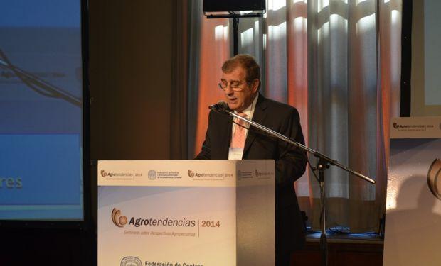 Fernando Rivara, Pte. de la Federación de Acopiadores, dio la bienvenida a una nueva edición de Agrotendencias.
