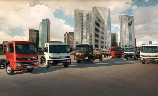 La división Camiones y Buses de Volkswagen presenta la nueva familia Delivery, una revolución en el transporte de carga.