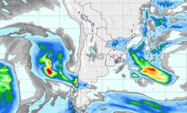 Pronóstico de lluvias para el 1° de julio.
