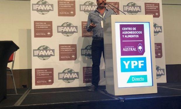 Maximiliano Landrein, CEO de Agrofy, en IFAMA.