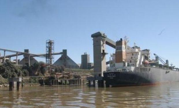 Actividad a media en puertos y aceiteras por el paro de la CGT