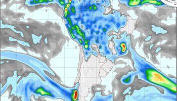 Sin lluvias hasta el fin de semana en la Región Pampeana