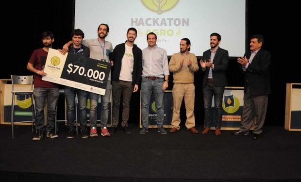 Ganadores del Hackaton agro.