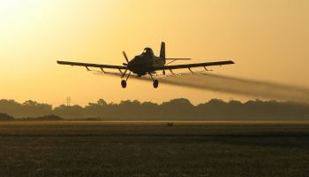 Desde el aire: los aviones y las buenas prácticas agrícolas