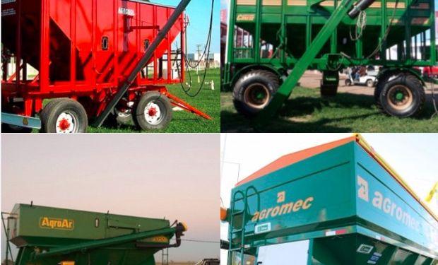 Agromec, Agrosol, Agroar y Acoplados Conese se destacan en el rubro por su diseño y calidad.