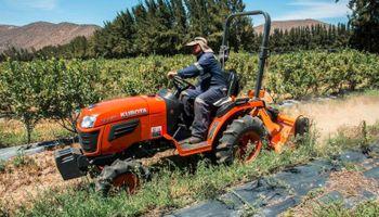 Los tractores Kubota se presentan en la Rural de San Francisco