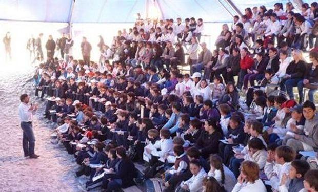 Rafaela: 2600 chicos en el INTA