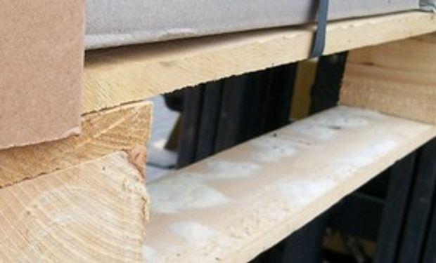 El Senasa controla el ingresos de plagas por embalajes de madera