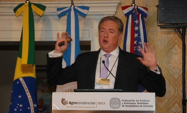 Mike Dwyer, de Foreing Agricultural Service del USDA