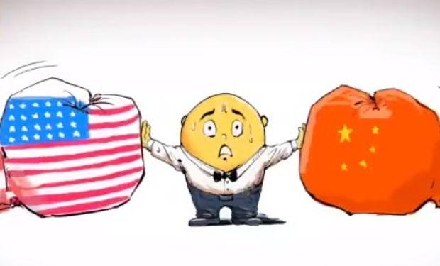 """China difunde el """"monólogo de la soja""""."""