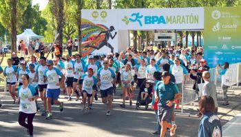Se corrió la segunda maratón del campo