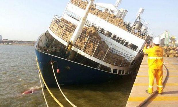 Solo poco más de 100 consiguieron escapar del navío.