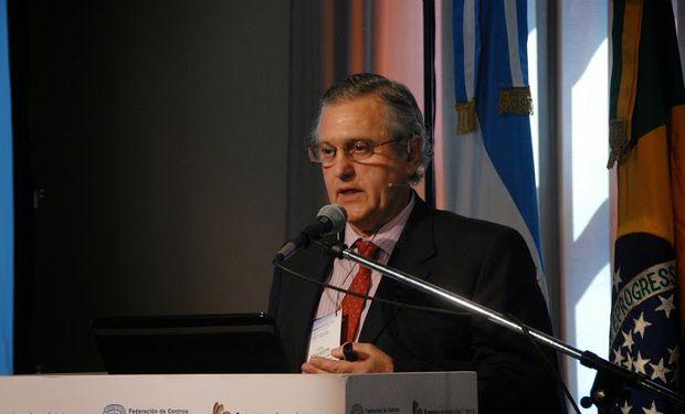 Ariel Bogliaccini, del Ministerio de Ganadería y Agricultura de Uruguay.