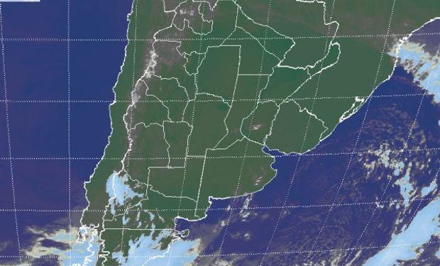 Cielos con escasa nubosidad en gran parte del país.