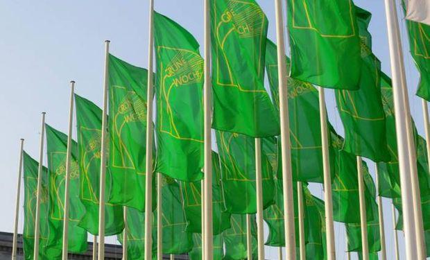 """La ceremonia de apertura de la """"Semana Verde Internacional"""" se llevó a cabo en el CityCube en Berlín, Alemania."""