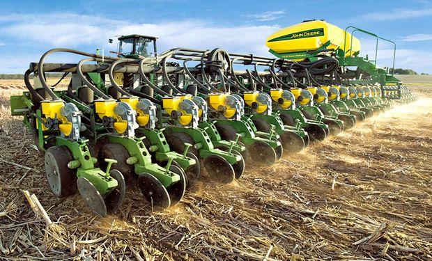 En todo el año 2015 se habían declarado exportaciones argentinas de 172 sembradoras.