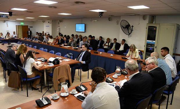 Reunión conjunta de las comisiones de Agricultura y Ganadería, Legislación General y Presupuesto y Hacienda de la Cámara de Diputados de la Nación.
