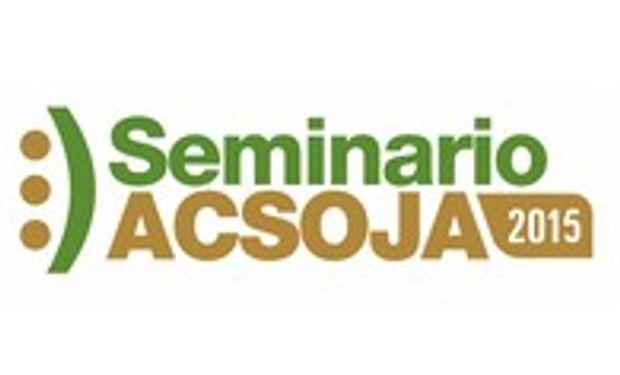 Seminario ACSOJA 2015 en la Bolsa de Comercio de Rosario