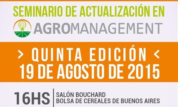 Nueva edición del Seminario de de Actualización en Agromanagement.
