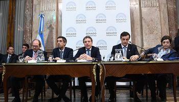Dujovne presentó el Presupuesto 2019 ante el Senado y pidió acompañamiento