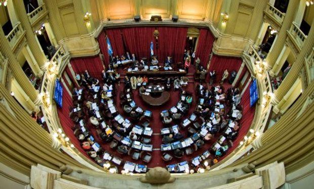 Oficialismo y oposición plantearon su agenda en la Cámara Alta.