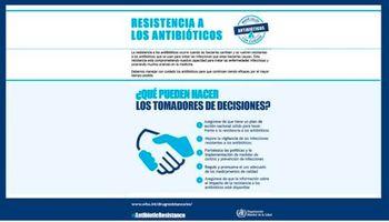 Semana mundial de concientización sobre el uso de antibióticos