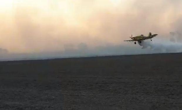 """Incendios por la """"sequía extrema"""" en el norte: """"El pasto seco es muy preciado, es como el agua"""""""